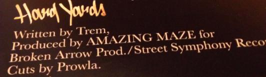 Trem Hard Yards Credits